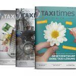 Fiskaltaxameter ist Titelstory bei der aktuellen Taxi Times DACH