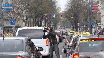 Die Wiener Anti-Uber-Demo