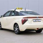 Erstes Wasserstoff-Taxi verfügbar