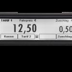 Kienzle hat einen neuen Fiskaltaxameter