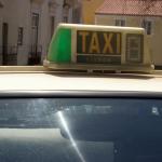 Taxifahrer protestieren in Lissabon