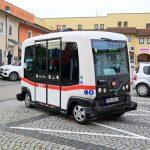 Ilk defa Alman Trafiğinde kendi kendine giden Otobüs
