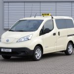 Neuer Nissan e-NV200 demnächst als Taxiversion bestellbar