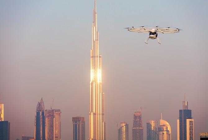 Volocopter in Dubai Foto: Volocopter