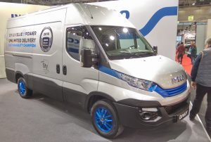 Iveco Daily Foto: Taxi Times