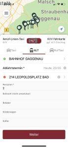 ALT-App Bestellung Foto: Taxi Holl