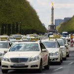 Taxi Demos in Berlin, Hamburg, London und Paris am 11. Juni 2014