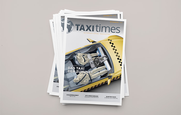 Taxi Times Ausgabe September 2014