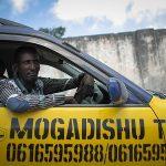 Taxifahrer in Mogadishu, 2013