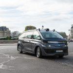 Ein vollautonomes Fahrzeug aus dem Hause Navya. Foto: Michaël GOUNON/Navya