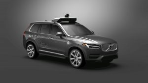 autonomes Fahrzeug Uber Volvo