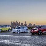 Die I.D.-Familie von Volkswagen Foto: Volkswagen AG