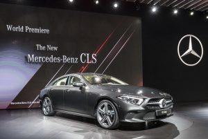 Die dritte Generation des CLS Foto: Daimler AG