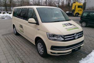 """ABT """"e-DSG"""" auf VW T6 Basis Foto: Taxi Times"""