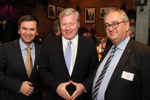 : GVN-Geschäftsführer Benjamin Sokolovic, Niedersachsens Wirtschaftsminister Dr. Bernd Althusmann und GVN Präsident Mathias Krage