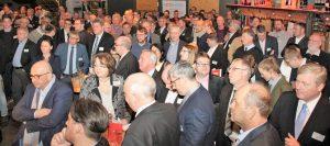 Rund 200 Gäste waren zum Meinungsaustausch mit der Niedersächsischen Politik erschienen.
