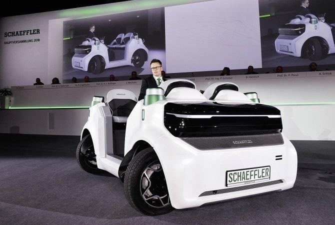 Autonomer Schaeffler Mover mit E-Antrieb Foto: Schaeffler Technologies AG & Co. KG