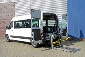 Umgerüsteter Opel Movano Foto: AMF-Bruns