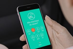 abilio App mit Walk-in Funktion Foto: abilio