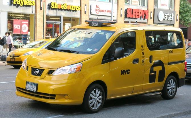 New York Yellow cabs nicht mehr nur Nissan Foto: Taxi Times