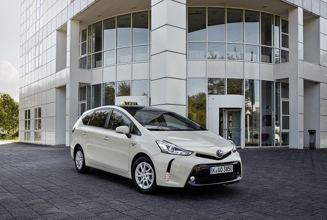 Toyota Prius+ Taxi Foto: Toyota