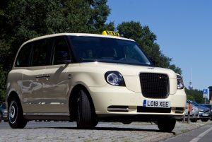 Darf getestet werden: Das London Taxi TX von LEVC Foto: LEVC