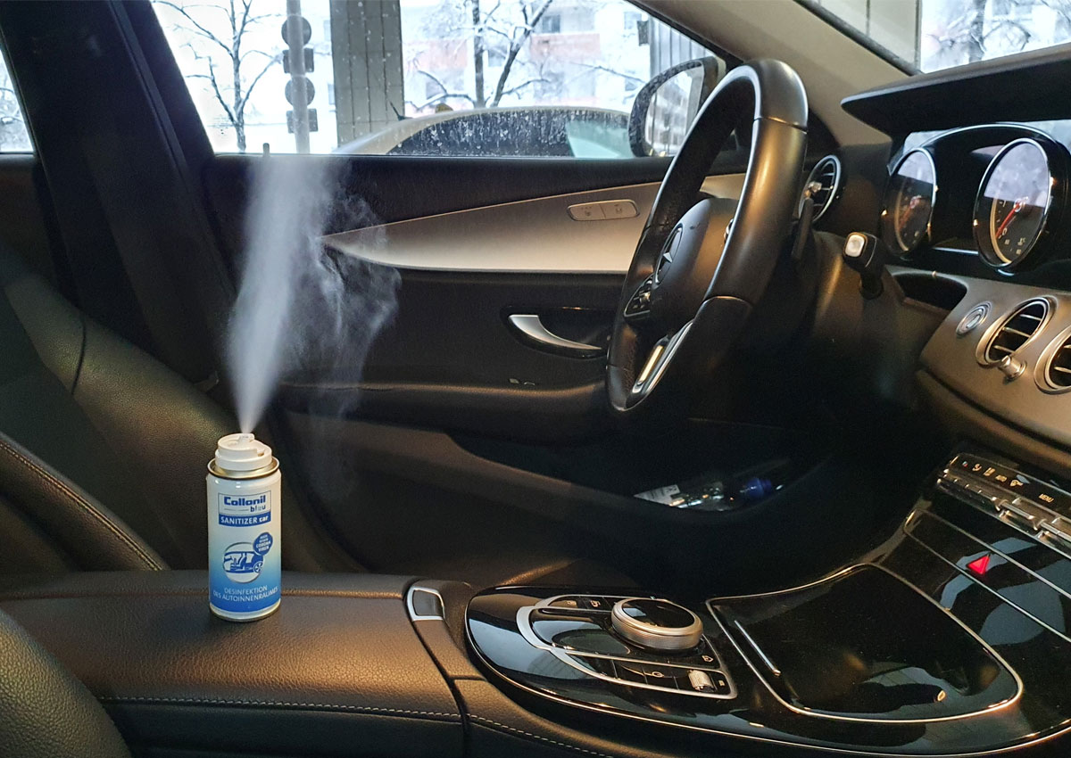 Collonil bleu Satinizer Car Taxi Desinfektion